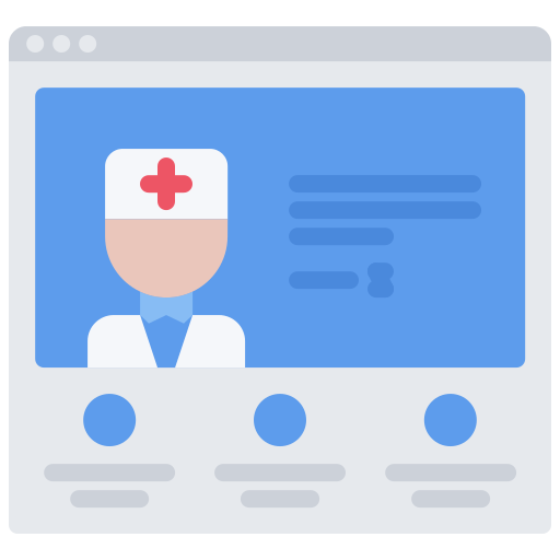 doctor personal website